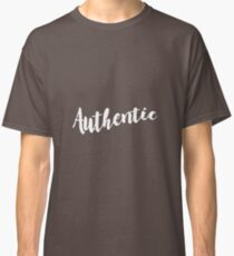 authentic pattern black and white Classic T-Shirt