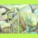 Leaves by Yana Art