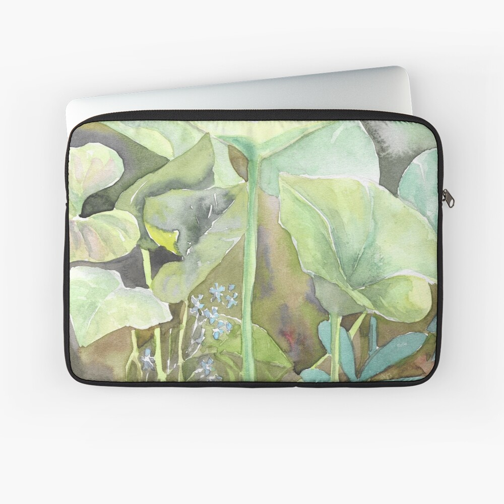Leaves Laptop Sleeve Front