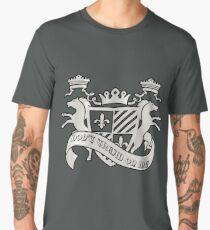 Templar Coat of Arms Shield Cross Symbol Medieval T-Shirt  Men's Premium T-Shirt
