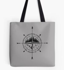 Nature Compass II Tote Bag