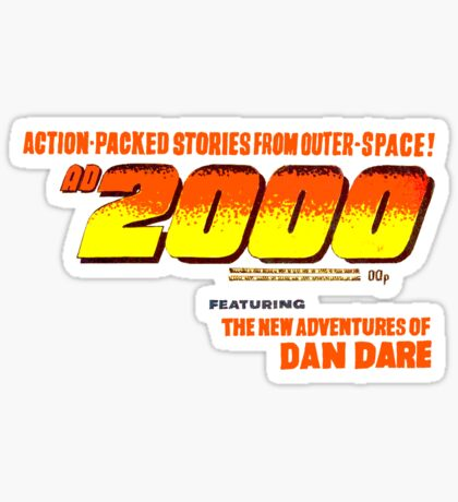 AD 2000 Sticker