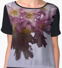 The last of the blossoms Women's Chiffon Top