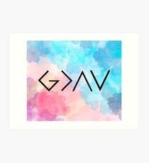 God Is Greater Than the Highs and Lows Art Print