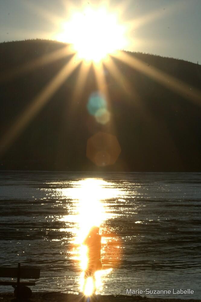 Midnight-Sun Light-Bath by Marie-Suzanne Labelle