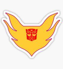 Hot Rod Flame Logo Sticker
