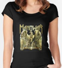 Battle Hymns Manowar Women's Fitted Scoop T-Shirt