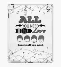 The Beatles (All You Need Is Love) iPad Case/Skin
