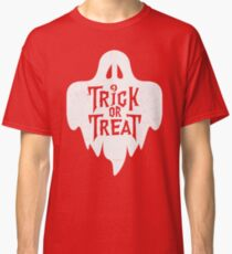 Trick Or Treat Halloween Ghost Classic T-Shirt