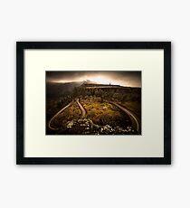 Columbia River Gorge, Oregon - Veleda Thorsson Photography Framed Print