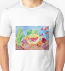 deep-sea monster, watercolor painting T-Shirt
