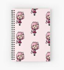 sakura yume chibi Spiral Notebook