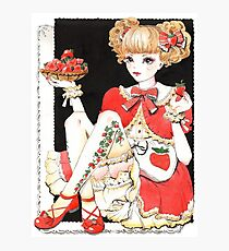 Strawberry Lolita Photographic Print