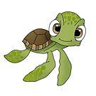 Niedliche Schildkröte von kijkopdeklok