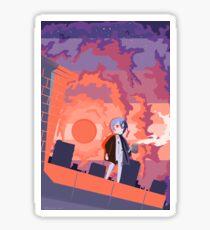 Rei Ayanami - U Get On My Nerv  Sticker