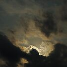 Sun Behind the Clouds by azbulutlu