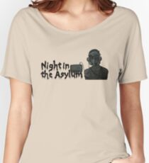 Night In The Asylum - Logo Women's Relaxed Fit T-Shirt
