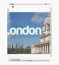Bad day in London iPad Case/Skin