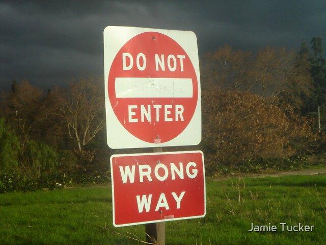 Wrong Way by Jamie Tucker