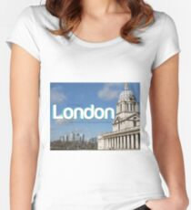 Bad day in London Women's Fitted Scoop T-Shirt