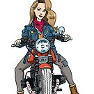 Cafe Racer Lady! (1) by RFlores