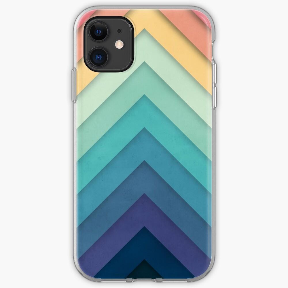 Retro Chevrons 002 iPhone Case & Cover