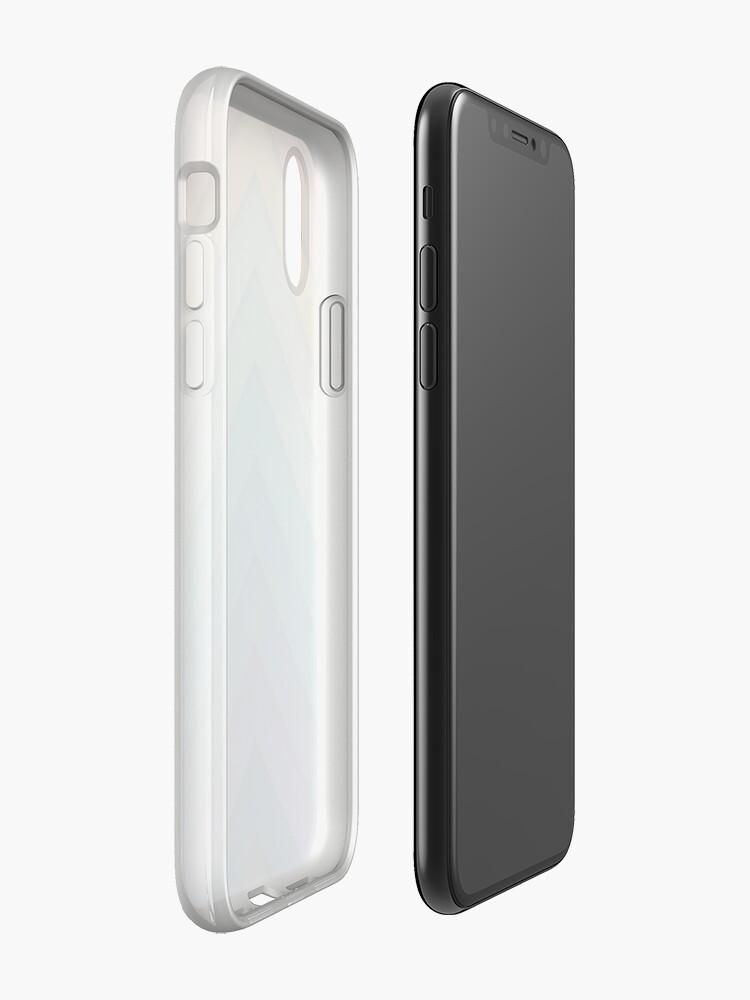 Alternative Ansicht von Retro Chevrons 002 iPhone-Hüllen & Cover