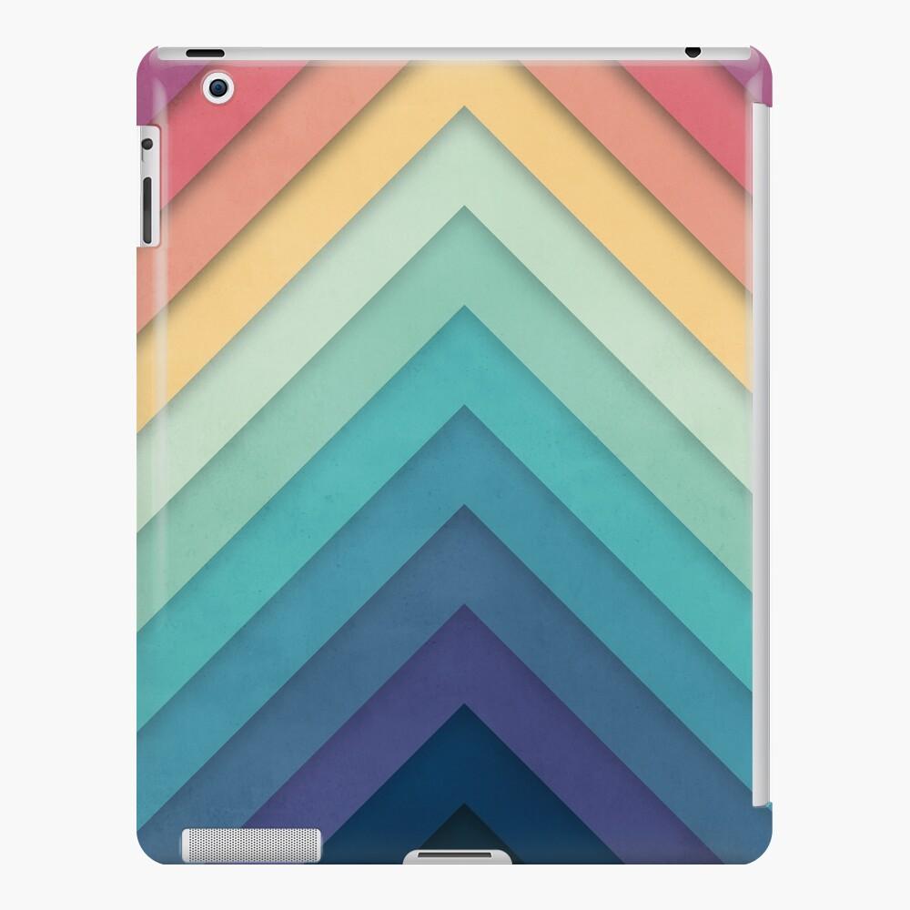 Retro Chevrons 002 iPad Case & Skin