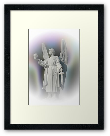 St. Michael the Archangel by Bonnie T.  Barry