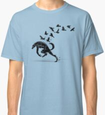 Werewolf Running from Ravens Classic T-Shirt