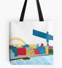 Newcastle Skyline Tote Bag