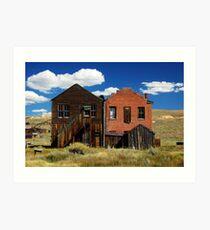 I.O.O.F Hall & The Dechambeau Hotel + Post Office Art Print
