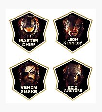 Gaming Legends [4 in 1 set] #1 Photographic Print