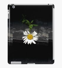 A flower in an ashtray iPad Case/Skin
