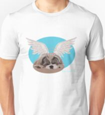 Some angels wear fur instead of wings @DavidAvocadoPug T-Shirt