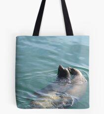 Sea Lion Couple Tote Bag