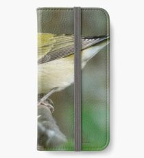 tennessee warbler iPhone Wallet
