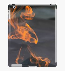 The Eternal Flame burning Photographed at the Museum and Memorial of the 1915 Armenian Genocide, Armenia  iPad Case/Skin