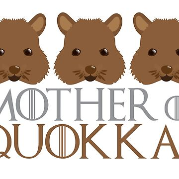 Mother of Quokkas by jazzydevil