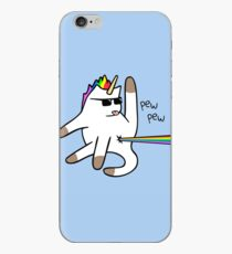 Unicorn Cat Rainbow Butt Laser iPhone Case