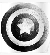 Captan America,  American marvel, Superhero shield  Poster