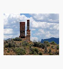 Tuscarora Chimneys Photographic Print