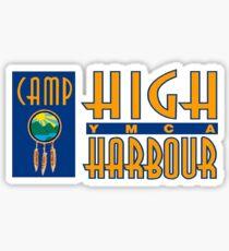 Camp High Harbour Sticker