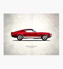 The Shelby Mustang GT500 KR Photographic Print