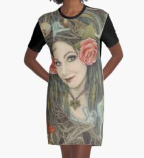 In the Wild, Wild Wood Graphic T-Shirt Dress