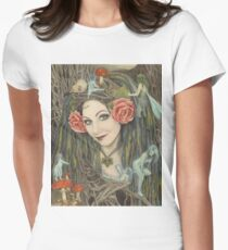In the Wild, Wild Wood Women's Fitted T-Shirt