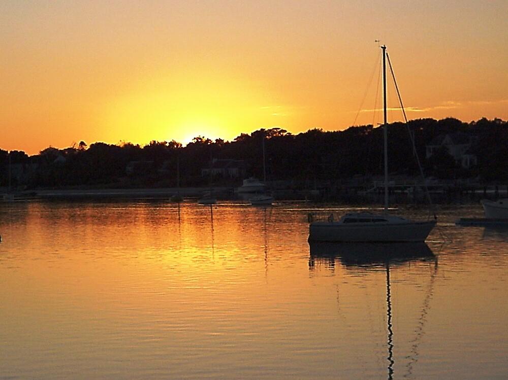 Sunset CapeCod by Braedene