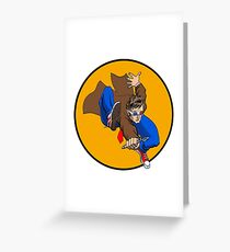The Doctor! Greeting Card