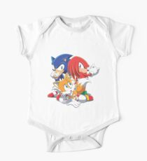 Sonic, Tails and Knuckles Kids Clothes