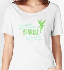 Leave a Little Sparkle Wherever You Go Women's Relaxed Fit T-Shirt